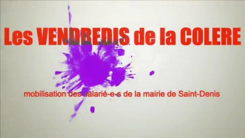 Les VENDREDIS de la COLERE à la mairie de Saint-Denis : la mobilisation continue (19 avril 2013)