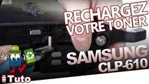 Recharger facilement des toners CLP-610 Samsung