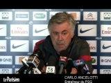 "PSG. Ancelotti : ""Ibrahimovic sera sûrement au PSG la saison prochaine"""