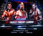 WWE 13  :  Triple Threat Ladder, The Rock VS Randy Orton VS Kofi Kingston