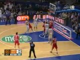 Real Madrid vs Olympiakos 75-78 2009 euroleague play-off game 4