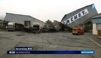 incendie de l'entreprise Blanchet à Avranches (50)