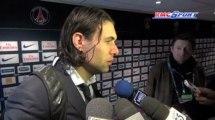 Ligue 1 / Les réactions de C. Ancelotti, S. Sirigu, M. Sakho et C. Puel après PSG - Nice - 21/04