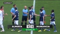 Liga Adelante  Almería 1  Numancia  1