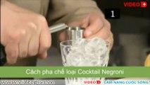 Cách pha chế cocktail negroni