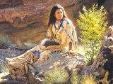 Indiens Navajos en peinture de A. RODRIGUEZ