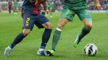 Un solitario tanto de Cesc acerca al Barça al título de Liga