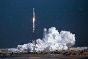 Premier lancement de la fusée Antares