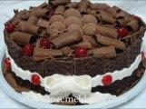 Bolos(Cakes) de Chocolate Recheados e Decorados #2 - Doce Mel Doces