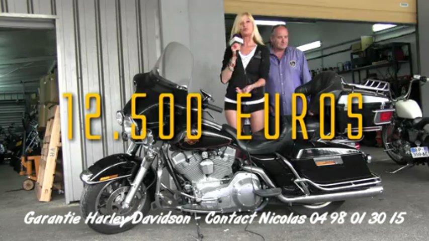 HARLEY DAVIDSON ELECTRA STANDARD – occasion Harley Davidson VAR – 83