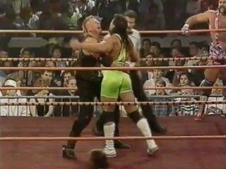 45. 90-10-27 Rick & Scott Steiner vs. The Nasty Boys (Halloween Havoc)