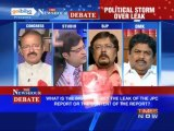 The Newshour Debate: JPC Report - Leak or the report, which is an issue? (Part 2 of 3)