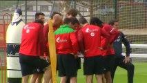 """El jugador del Athletic de Bilbao Ibai Gómez: """"A todos nos gusta ver jugar"""" al Barça"""