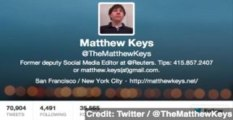 Reuters Fires Matthew Keys Amid Hacking Accusations