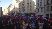 Le défilé des anti-mariage gay
