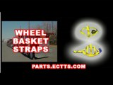 wheel straps auto shipper straps tire straps wheel basket straps
