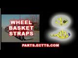 wheel straps auto shipper straps tire straps wheel basket straps