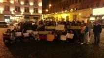 En exhibición de película de Oliver Stone sobre Chávez venezolanos en Italia exigieron recuento de votos