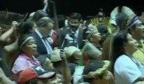 Le chef Raoni et 300 indiens s'installent à l'assemblée brésilienne