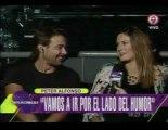 Pedro y Paula en Implacables (con Delfi Chaves) - 23 de Abril