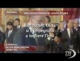 Governo, Berlusconi: Letta si è impegnato a togliere Imu-VideoDoc. Subito misure di rilancio del nostro programma