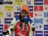 IPL Season 6 2013-Royal Challengers win vs Pune Warriors-Chris Gayle-IANS India