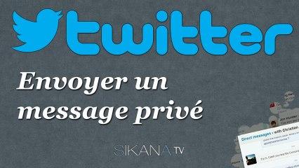 Tutorial Twitter: Envoyer un message privé