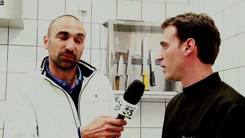 Racing Métro 92 : Jérome Alonzo rencontre R. Collgon Chef Cuisinier du Racing Métro 92