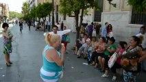séville 2013 flamenco dans la rue par les gens de la rue
