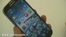 Samsung Galaxy S4: air gesture e airview anteprima video