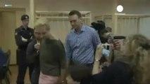 """Russia: Navalny in tribunale """"è vendetta politica di Putin"""""""