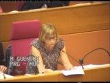 Décentralisation - Métropole de Paris - Intervention de Muriel GUENOUX (PRG)
