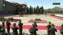 François Hollande en visite d'Etat en Chine