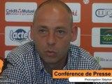 25 04 2013 - Point presse : prolongation de Stéphane Moreau