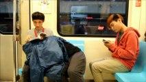 Fellation dans le métro