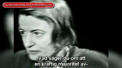 Classic Ayn Rand Interview (w/ Swedish Subtitles)
