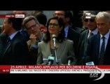Boldrini contro Grillo: 25 aprile più vivo che mai - VideoDoc. Il presidente della Camera a Milano: gli scettici vengano qui