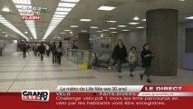 Le métro de Lille fête ses 30 ans!