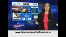Certified Used 2012 Honda Pilot EX-L 4wd for sale at Honda Cars of Bellevue...an Omaha Honda Dealer!