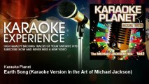 A-Type Player - Earth Song - Karaoke Version In the Art of Michael Jackson