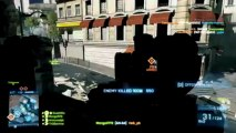 AN 94 6x Scope Bipod Sniping - Battlefield 3 (BF3 Gameplay/Live Commentary)