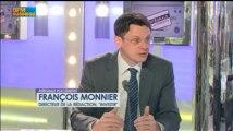 Les marchés parient sur l'intervention de la BCE: François Monnier, Intégrale Placements - 26 avril