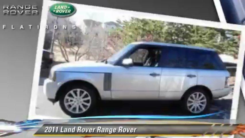 2011 Land Rover Range Rover – Land Rover Flatirons, Superior