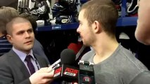 Josh Gorges after the Canadiens' loss to the Capitals April 20, 2013