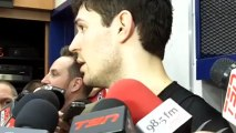 Canadiens' goaltender Carey Price after Habs victory over the Lightning on April 18, 2013