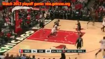 Watch Chicago Bulls vs Borkyn Nets 2013 Playoffs game 5 Streaming For Free