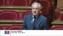 Christian Cambon, Sénateur du Val-de-Marne : Aire d'accueil pour les gens du voyage dans le bois de vincennes