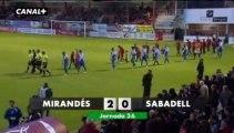 Liga Adelante Mirandés 2  Sabadell 0