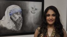 Gracy Singh Inaugurate's Sanyog Art Exhibition !