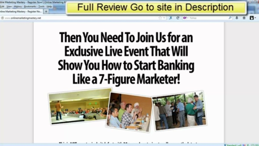 Online Marketing Mastery Live Review – Mario Brown